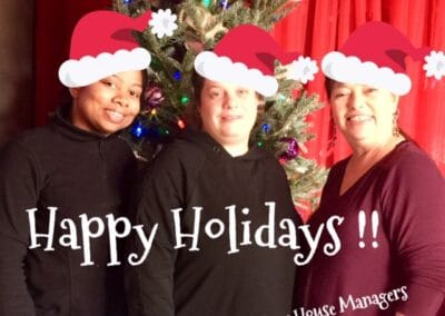House managers picture Happy Holidays 12.18.2019